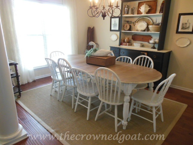Dining Room Table - Chalk Paint
