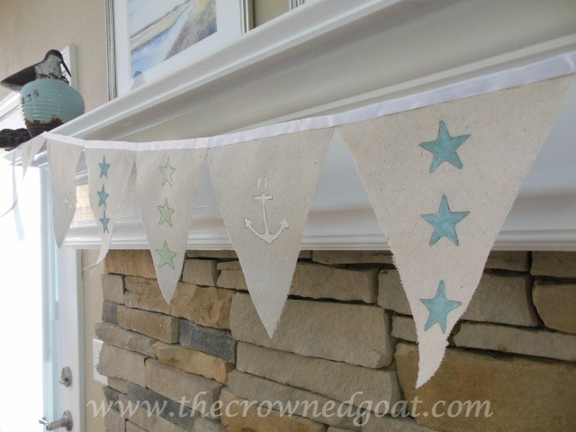 070414-2 Patriotic Inspiration: Coastal Bunting Crafts Holidays