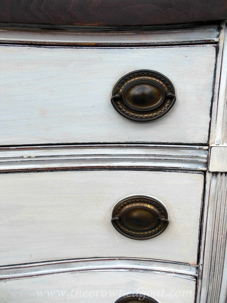 082714-6 Miss Mustard Seed Milk Paint Dresser Makeover Painted Furniture