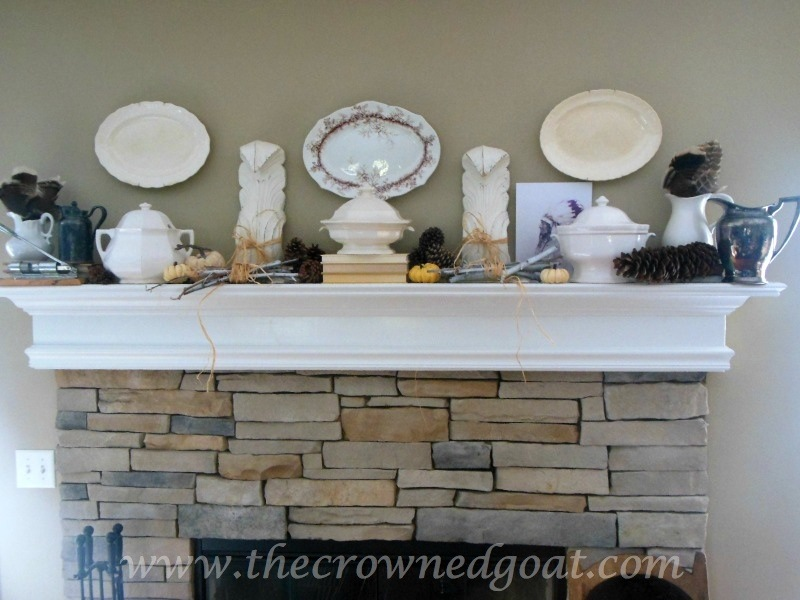 091914-1 Fall Blog Series: Mantle Decorating Fall Holidays