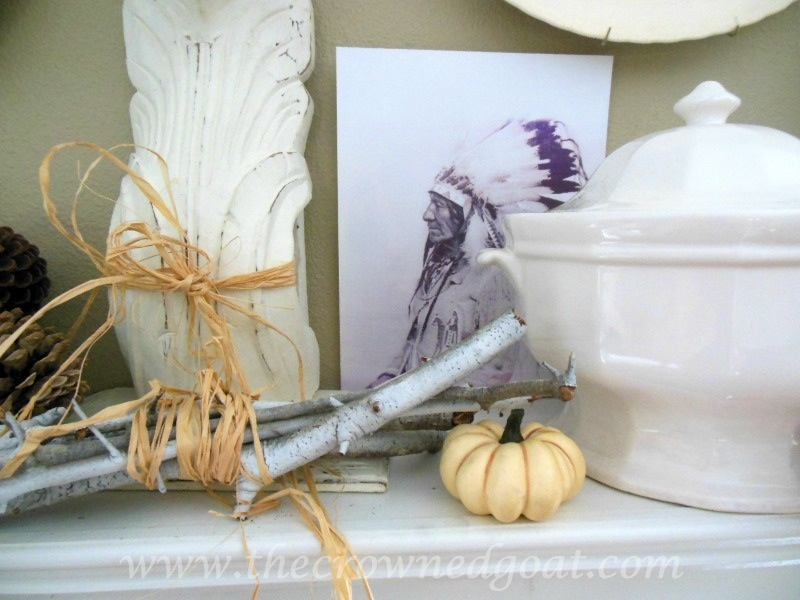 091914-5 Fall Blog Series: Mantle Decorating Fall Holidays
