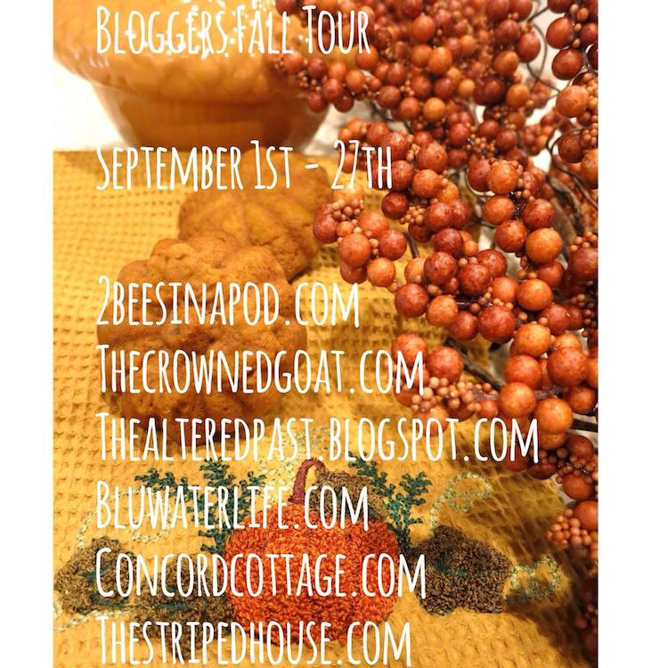 fall_blog_tour Fall Tablescape Decorating Fall Holidays