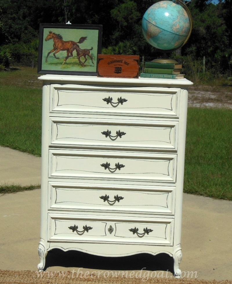 101514-9 Annie Sloan Chalk Paint Dresser Makeover Painted Furniture