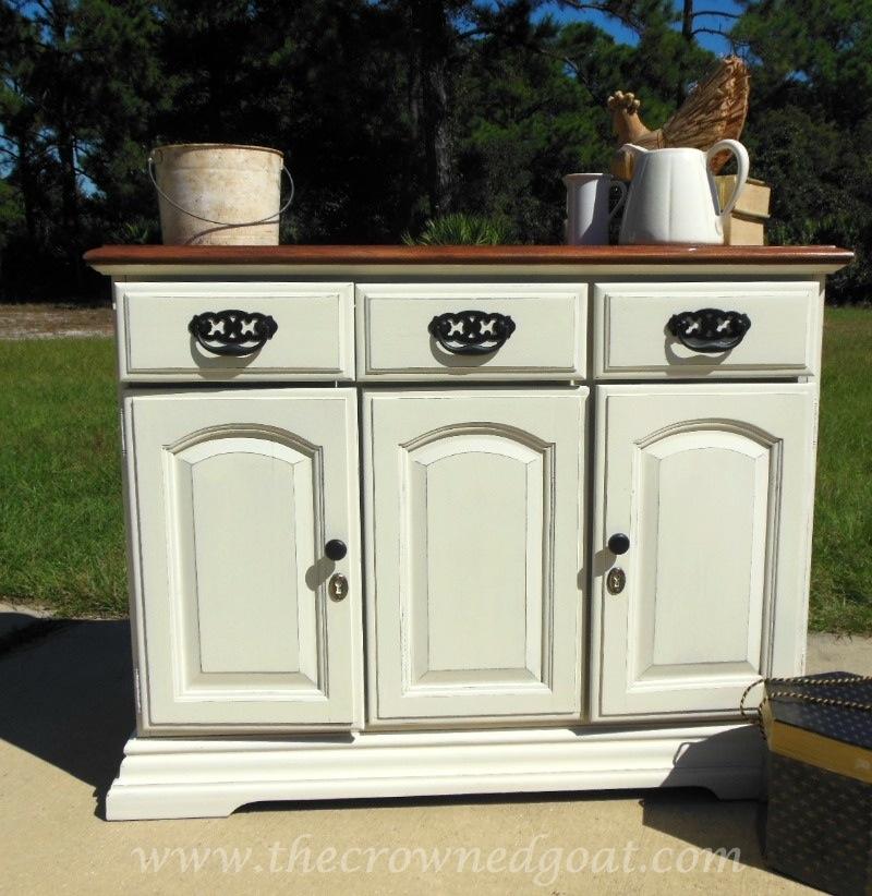 Annie Sloan Chalk Paint Old White Buffet