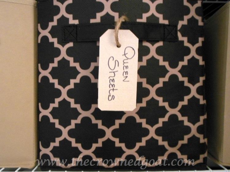 Cardstock-Tags-102214-10 Linen Closet Organization Organization