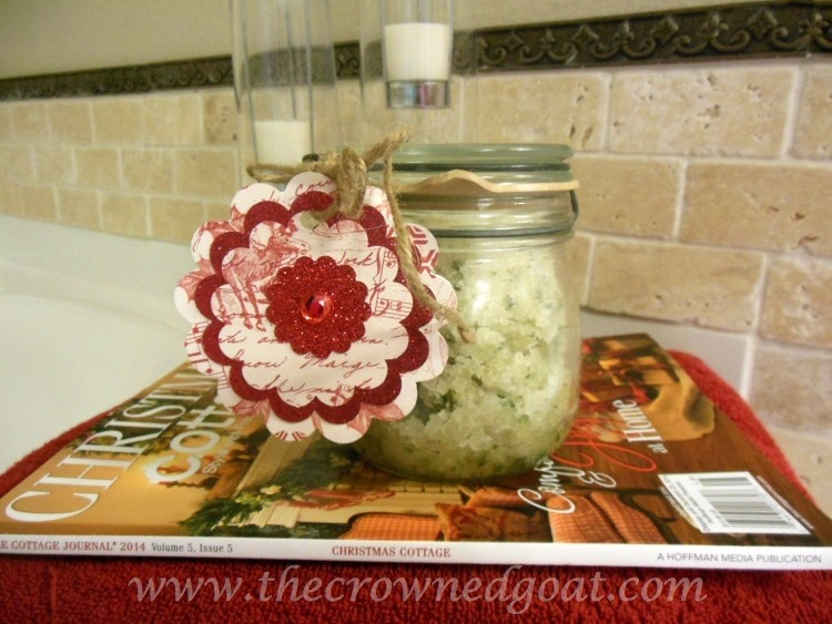 111714-8-Rosemary-and-Lemon-Balm-Sugar-Srub A Gift From the Kitchen: Lemon Balm and Rosemary Sugar Scrub Crafts Holidays