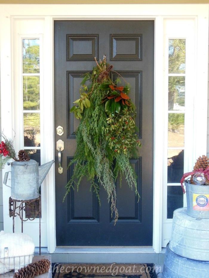 121514-1-Christmas-Porch 2014 Christmas Porch Decorating Holidays