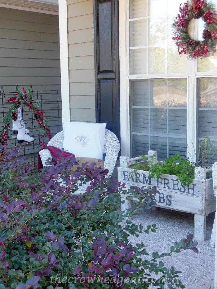 121514-9 2014 Christmas Porch Decorating Holidays