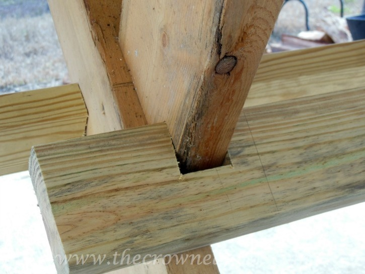 010615-10 Building a Farmhouse Style Table Painted Furniture