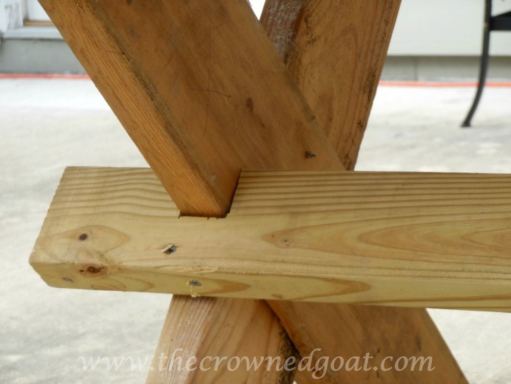 010615-11 Building a Farmhouse Style Table Painted Furniture