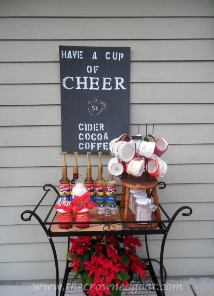 011415-4-Hot-Drinks-Bar-Essentials Indoor Coffee Station Decorating