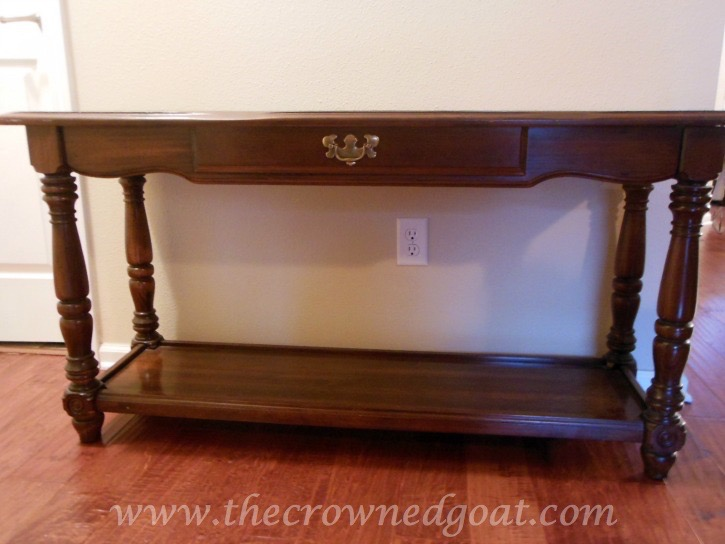 011514-1 ASCP Console Table in Duck Egg Painted Furniture