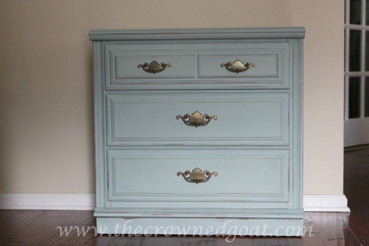 020315-2 A Few Finds and a Duck Egg Nightstand Makeover  Painted Furniture