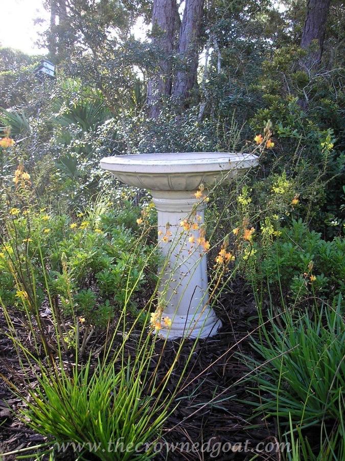 031115-1 How to Clean a Ceramic Glazed Birdbath DIY