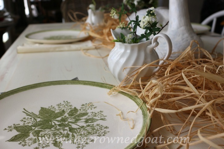 032415-7 Spring Inspired Kitchen Table Decorating Holidays