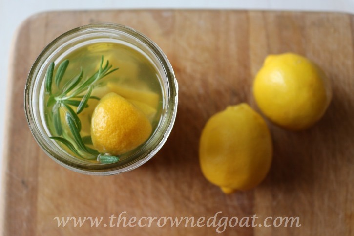 032715-7 Lemon and Lavender Mason Jar Simmer Pot DIY
