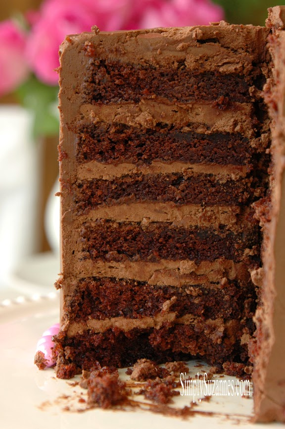 Simply-Suzannes-chocolate-cake Something to Talk About Link Party #9 LinkParty