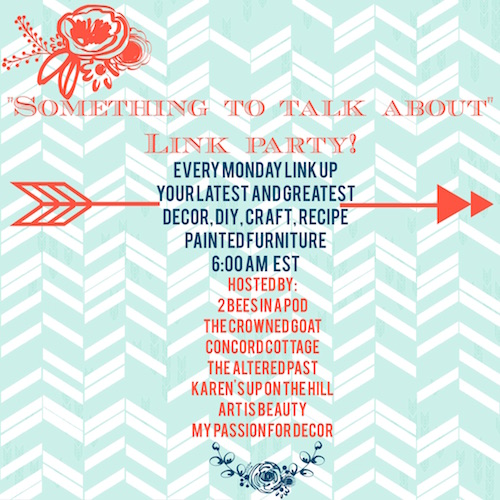 link-party Something to Talk About Link Party #7 LinkParty