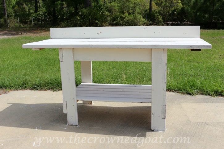 041015-6 Herboriste Potting Station Painted Furniture