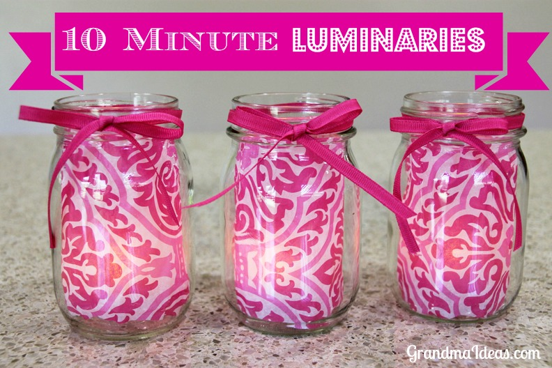 Grandma-Ideas-10_minute_luminary Something to Talk About Link Party #14 LinkParty