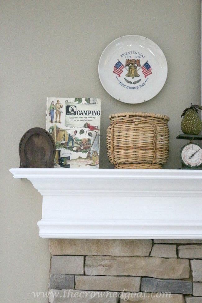 052615-3 Cabin Inspired Summer Mantel Decorating