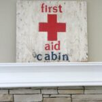 First-Aid-Cabin-Sign-The-Crowned-Goat-052615-2-150x150 Decorating