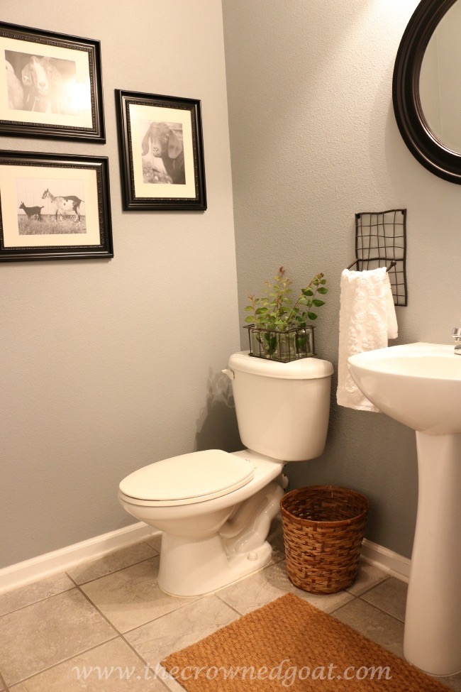 Adding-Texture-to-a-Small-Bathroom-The-Crowned-Goat-062315-12-Copy Other Changes Around the House Decorating