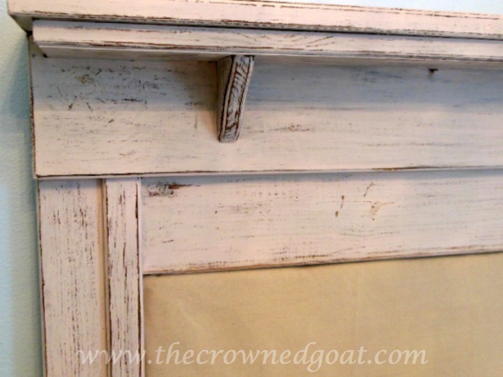 How-to-Make-a-Headboard-from-an-Old-Mantel-The-Crowned-Goat-062515-11 How to Make a Headboard From an Old Mantel DIY