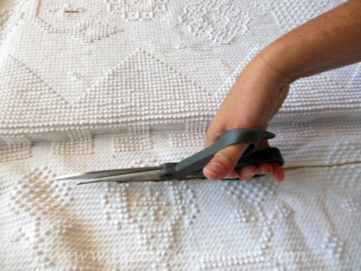 How-to-Make-a-Headboard-from-an-Old-Mantel-The-Crowned-Goat-062515-6 How to Make a Headboard From an Old Mantel DIY