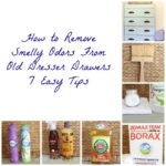 How to Remove Smelly Odors From Old Dreser Drawers - The Crowned Goat