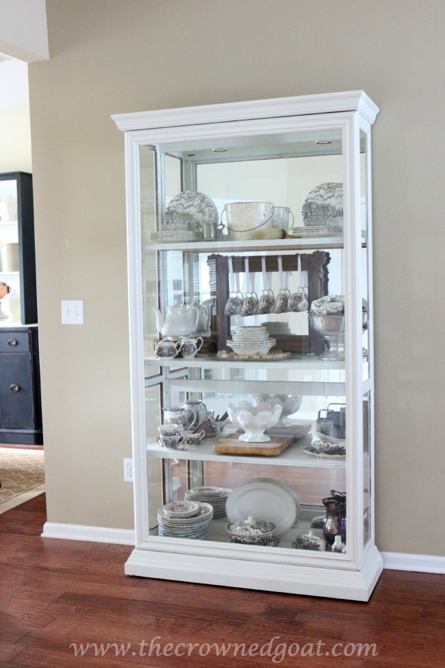 Restyled China Cabinet - The Crowned Goat - 062315-4 - Copy