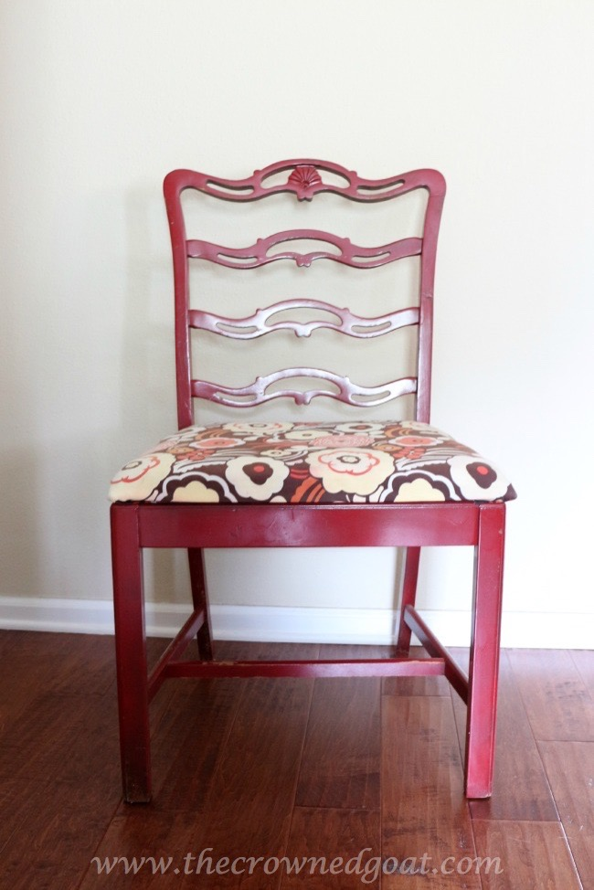 Coastal-Inspired-Chair-Makeover-The-Crowned-Goat-070715-1 Coastal Inspired Chair Makeover DIY Painted Furniture