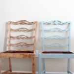 Coastal-Inspired-Chair-Makeover-The-Crowned-Goat-070715-2-150x150 Painted Furniture