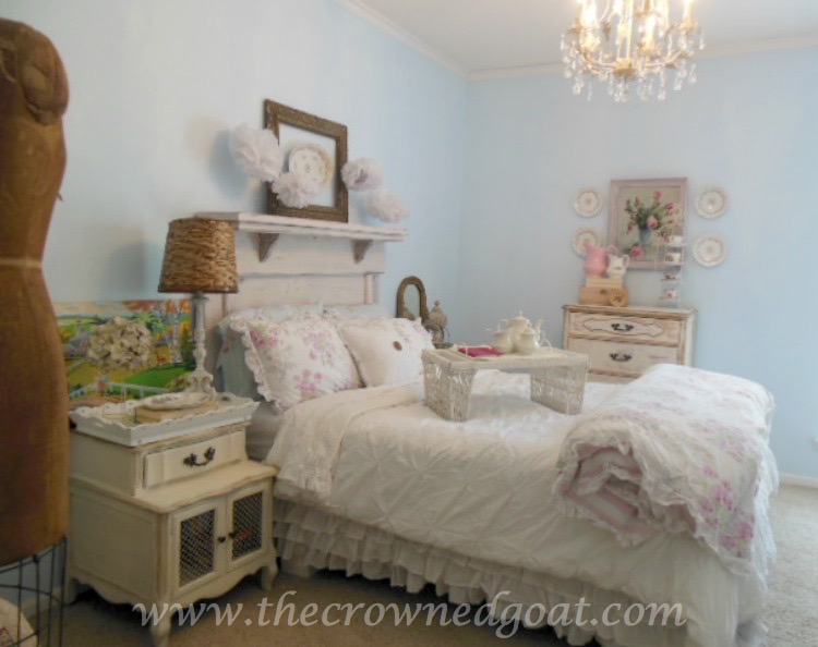 Shabby-Chic-Inspired-Bedroom-Makeover-The-Crowned-Goat-071515-1 Neutrals Inspired Bedroom Makeover Reveal  Decorating