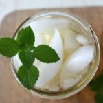 Sweet Peppermint Sun Tea