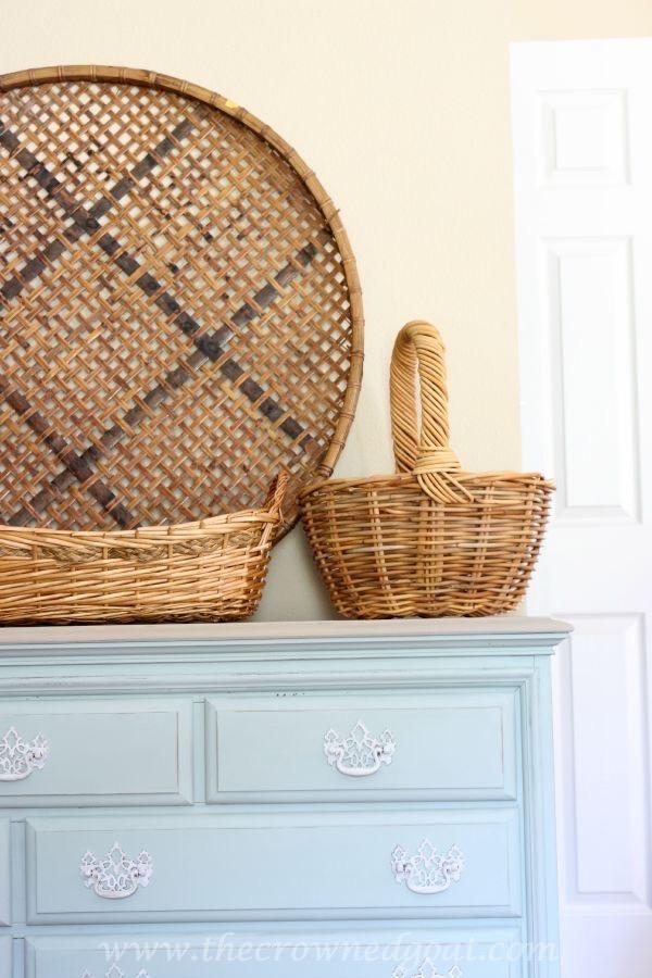 Annie-Sloan-Chalk-Painted-Dresser-in-Duck-Egg-The-Crowned-Goat-081315-16 Duck Egg Painted Dresser Painted Furniture