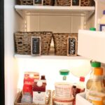 Budget-Friendly-Refrigerator-Makeover-with-Baskets-The-Crowned-Goat-080515-11-150x150 Organization