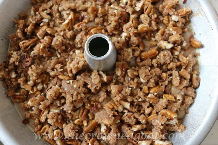090415-9 Pear Streusel Coffee Cake Baking