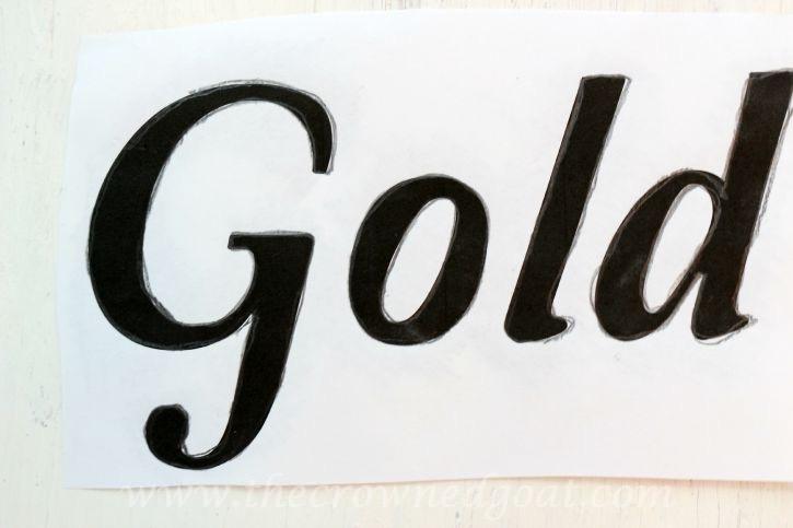 091015-6 Creating a Vintage Inspired Apple Picking Sign Crafts DIY