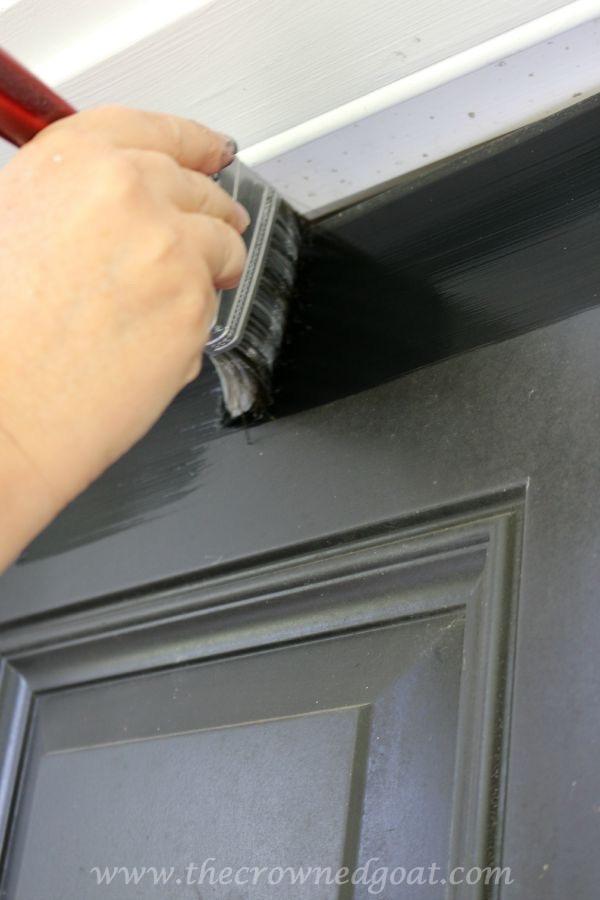 092315-11 Front Door Paint with Modern Masters DIY