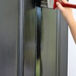Front Door Paint with Modern Masters - The Crowned Goat
