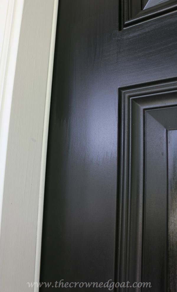092315-16 Front Door Paint with Modern Masters DIY