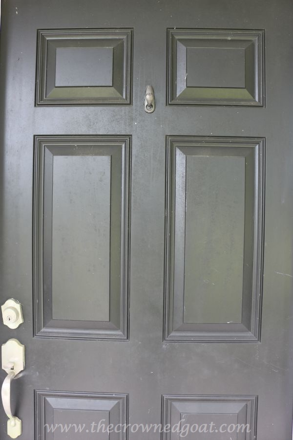 092315-4 Front Door Paint with Modern Masters DIY