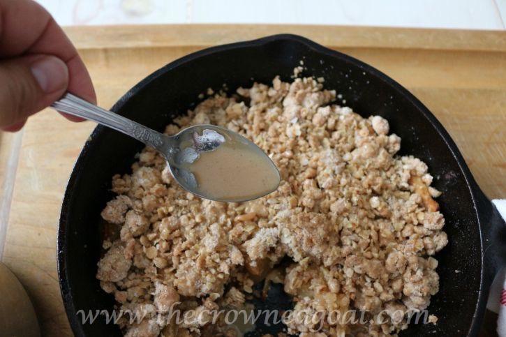 Salted-Caramel-Apple-Skillet-091815-12 Salted Caramel Apple Skillet Baking