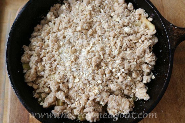 Salted-Caramel-Apple-Skillet-091815-9 Salted Caramel Apple Skillet Baking