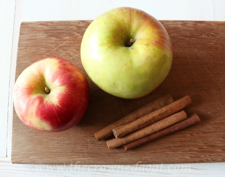 100915-1 Apple Oatmeal and Walnut Cookies Baking
