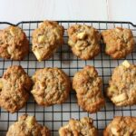 Apple Oatmeal and Walnut Cookies