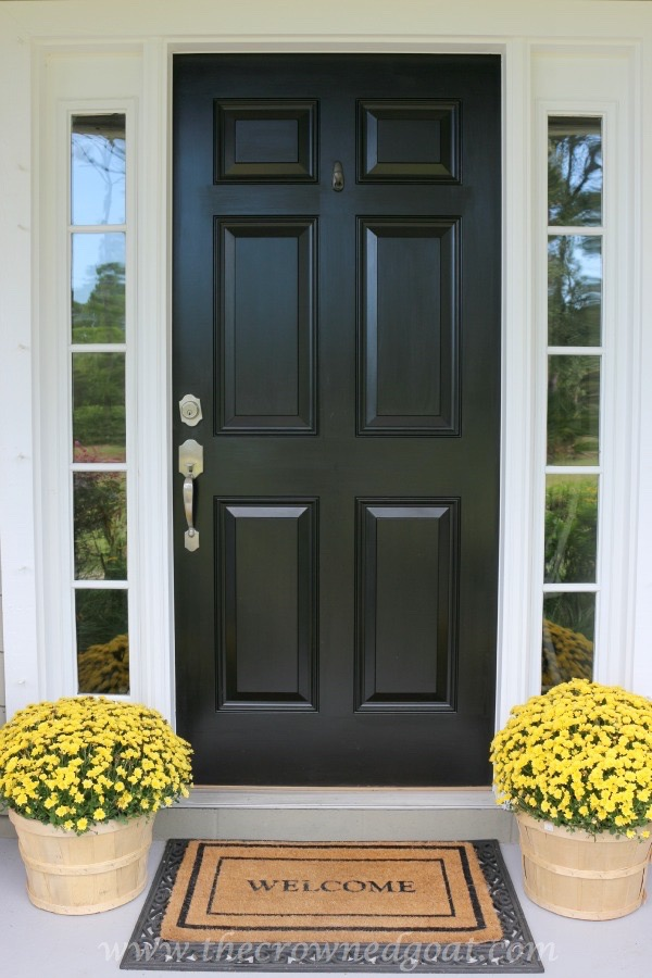 101415-7 Fall Inspired Front Door Décor Decorating Fall Holidays