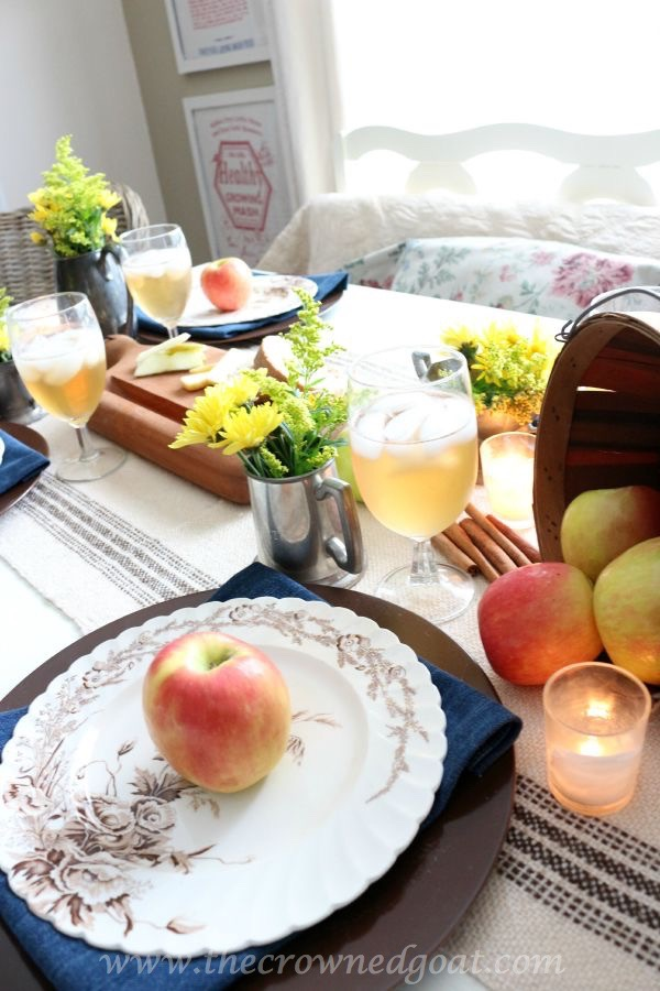 Autumn-Apple-Inspired-Tablescape-100815-22 Autumn Apples Inspired Home Tour Decorating