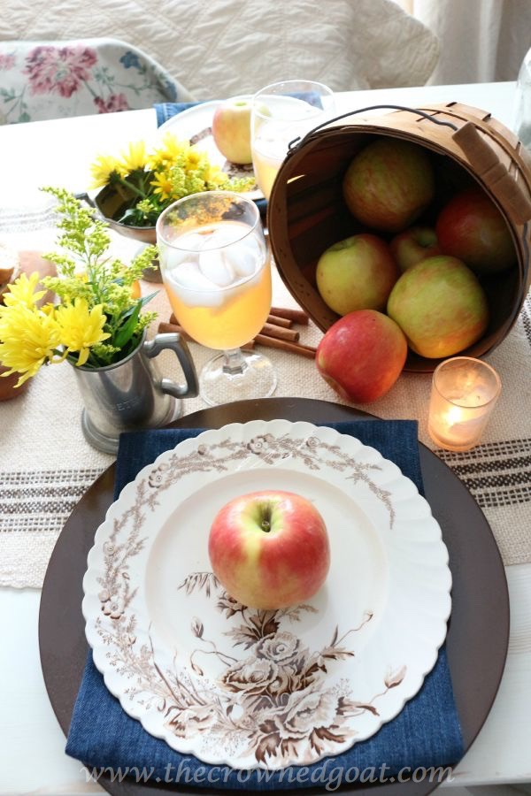 Autumn-Apple-Inspired-Tablescape-100815-23 Autumn Apples Inspired Home Tour Decorating